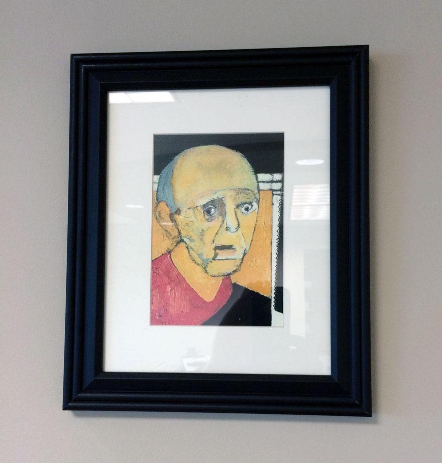 autorretrato William Utermohlen 1997-4