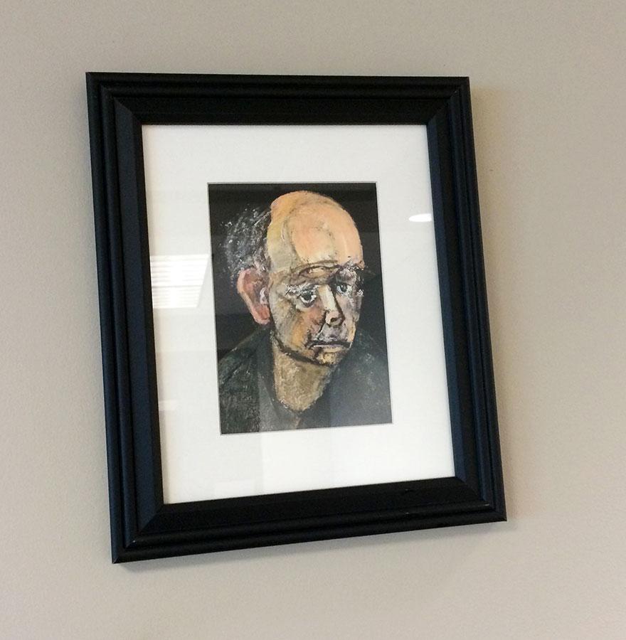autorretrato William Utermohlen 1997-5