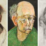 autoretrato de William Utermohlen pintor con Alzheimer